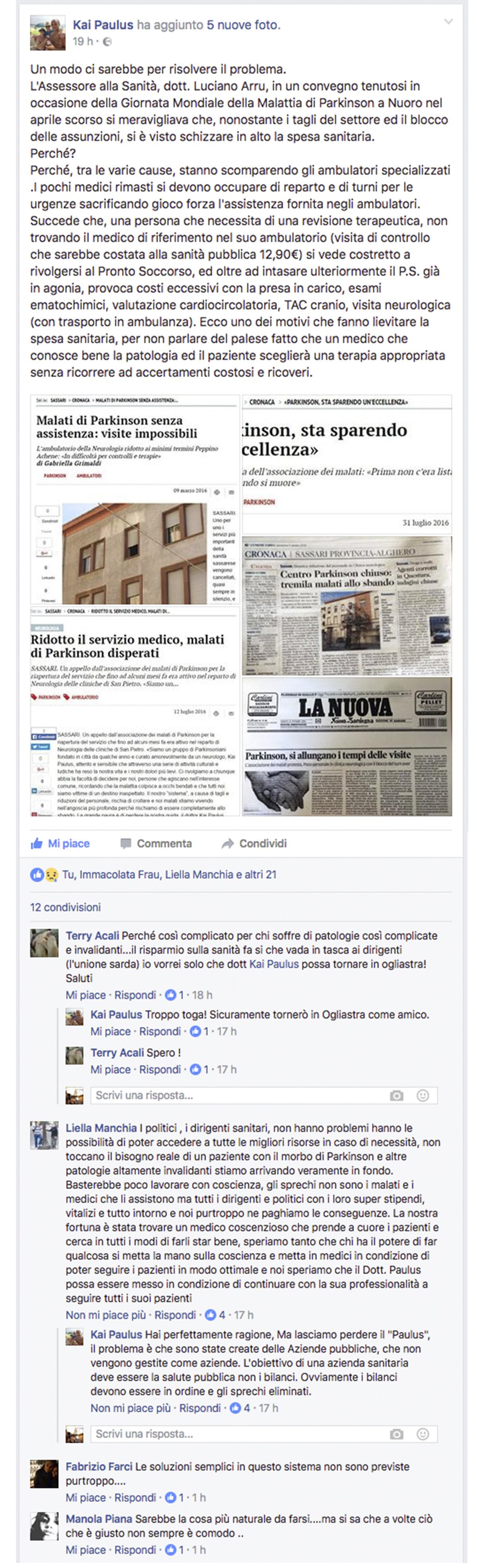 paulus-scrive-su-facebook