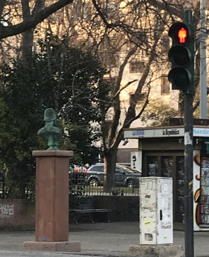 Il semaforo dell'Emiciclo