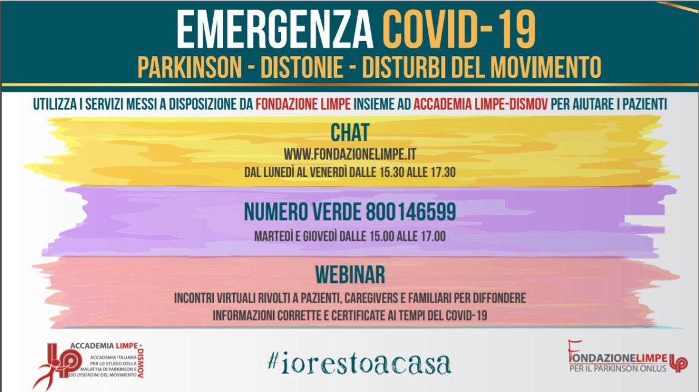 Emergenza Covid-19 Parkinson