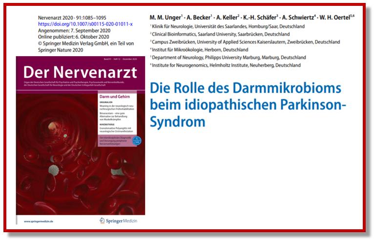 Il ruolo del microbiota intestinale nella malattia di Parkinson