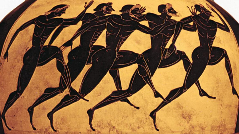 la corsa nell'antica grecia
