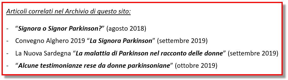Archivio Signora Parkinson